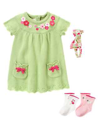 Adorable Floral Outfit by Gymboree