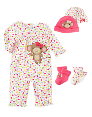 Darling Monkey Outfit by Gymboree