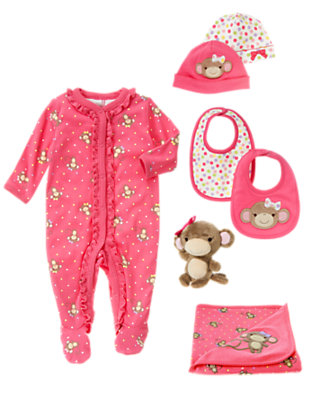 Monkey Playtime Outfit by Gymboree