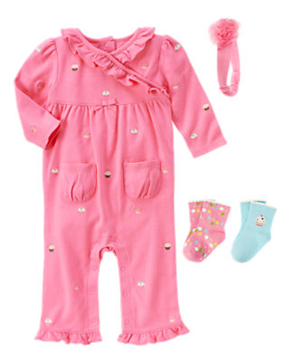 Pink Frosting Outfit by Gymboree