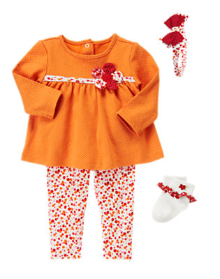 Bright Little Blossom Outfit by Gymboree