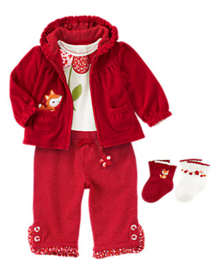 Adorable Fox Outfit by Gymboree