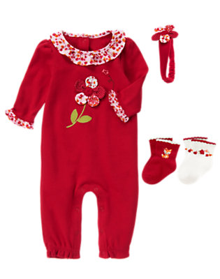 Darling Petals Outfit by Gymboree