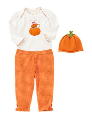 Little Pumpkin Outfit by Gymboree