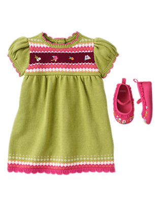Fair Isle Flair Outfit by Gymboree