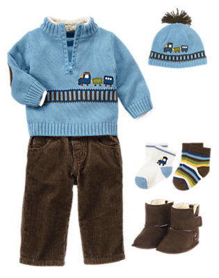 Baby's All Aboard Outfit by Gymboree
