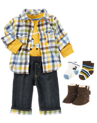 Choo Choooooo Outfit by Gymboree