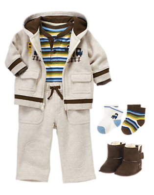 Baby Caboose Outfit by Gymboree