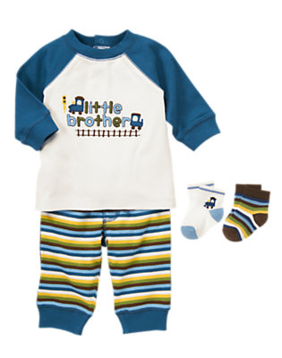 Baby's Little Brother Outfit by Gymboree