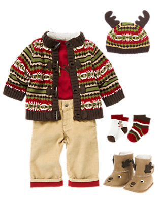 Mr. Reindeer Outfit by Gymboree