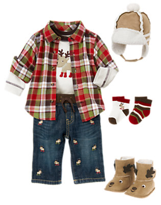 Baby's Warm Style Outfit by Gymboree