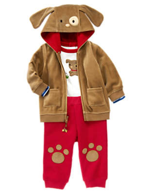 Puppy Cozy Outfit by Gymboree