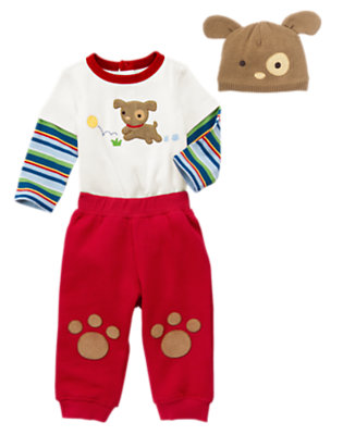Playful Puppy Outfit by Gymboree
