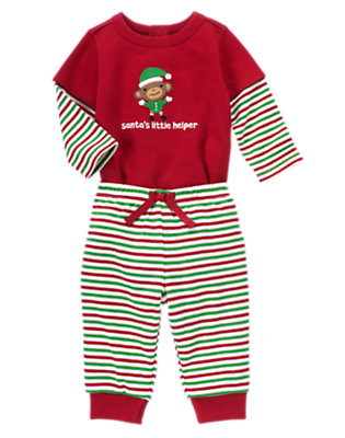 Baby's Santa's Little Helper Outfit by Gymboree