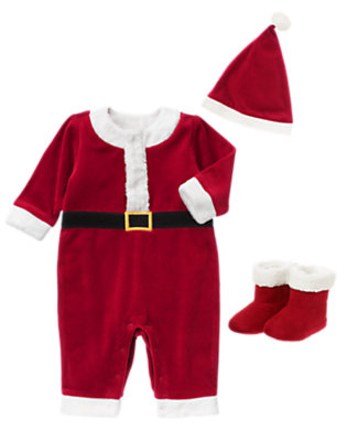 Baby Boy Santa Outfit by Gymboree
