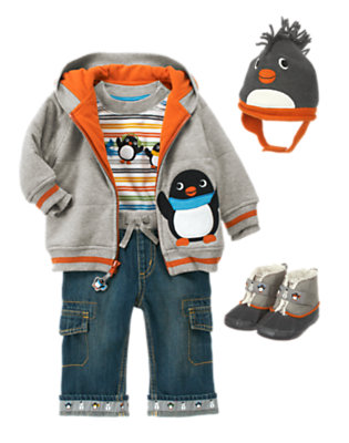 Baby's Stylish Winter Outfit by Gymboree