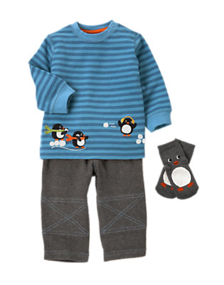 Penguin Playground Outfit by Gymboree