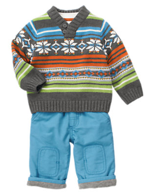 Warmest Style Outfit by Gymboree