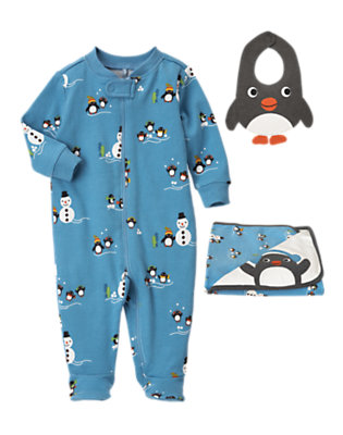 Baby's Comfy Penguin Outfit by Gymboree
