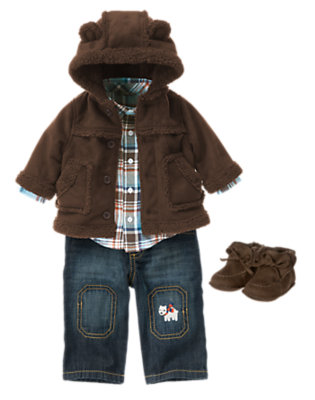 Baby's Winter Bear Outfit by Gymboree