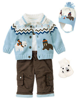 I'm A Catch Outfit by Gymboree