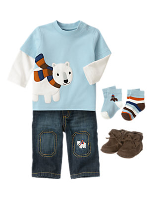 Baby's Polar Pal Outfit by Gymboree
