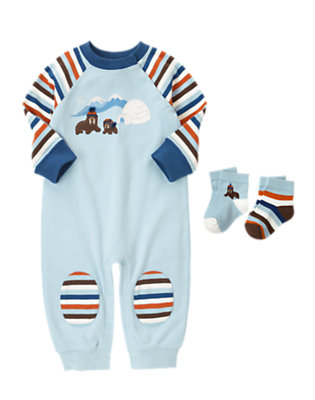 Igloo Days Outfit by Gymboree