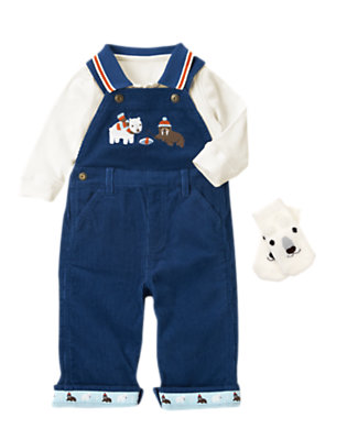 Arctic Preppy Outfit by Gymboree