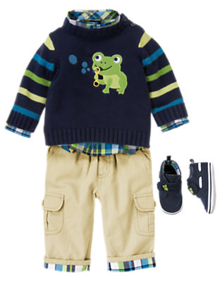 Friendly Frog Outfit by Gymboree