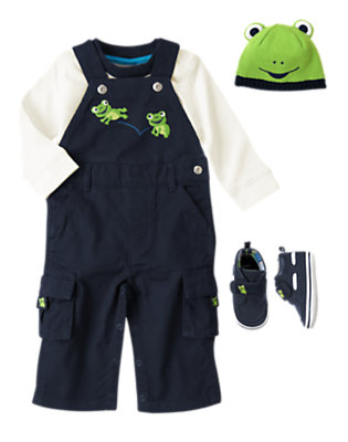 Frog Leap Outfit by Gymboree