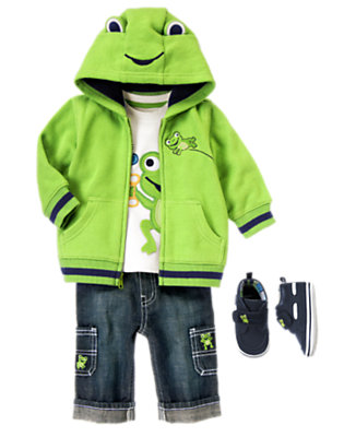 Happy Froggy Outfit by Gymboree