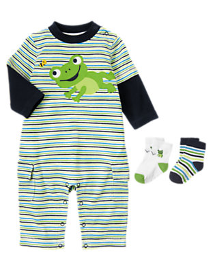 Ribbit Ribbit Outfit by Gymboree