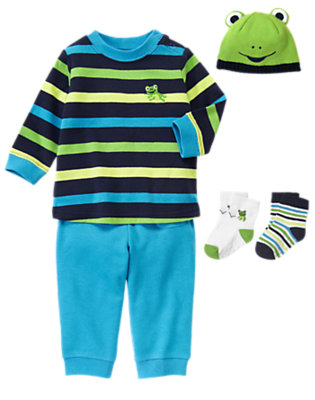 Froggy Fashion Outfit by Gymboree