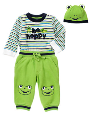 Be Hoppy Outfit by Gymboree