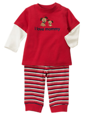 Baby's I Love Mommy Outfit by Gymboree