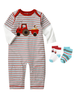 Baby's Stylish Digs Outfit by Gymboree