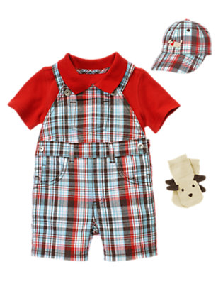 Plaid Days Outfit by Gymboree