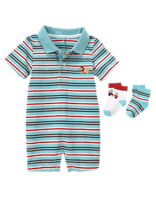 Baby's Stripe Style Outfit by Gymboree