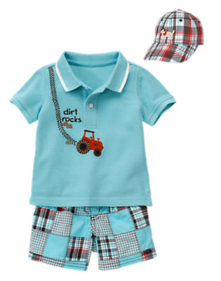 Baby's Patchwork Cool Outfit by Gymboree