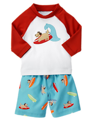 Baby's Surf Doggy Outfit by Gymboree