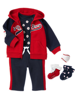 Baseball Boy Outfit by Gymboree