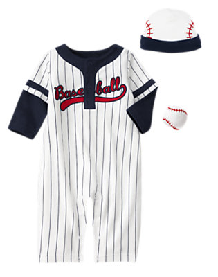 I Love Baseball Outfit by Gymboree