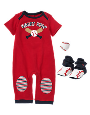 Short Stop Style Outfit by Gymboree