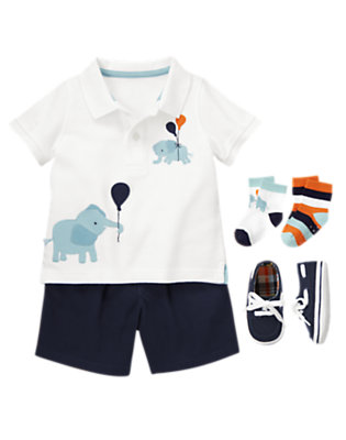 Up And Away Outfit by Gymboree