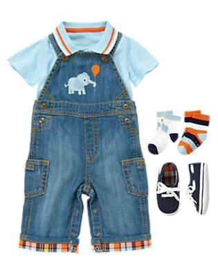 Denim Cool Outfit by Gymboree