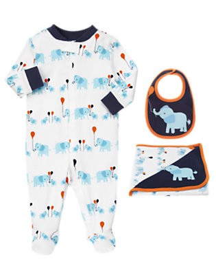 Elephant Comfort Outfit by Gymboree