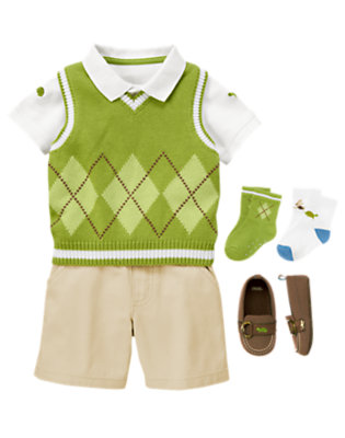 Baby's Fine Fella Outfit by Gymboree