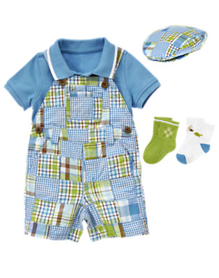 Preppy Patchwork Outfit by Gymboree