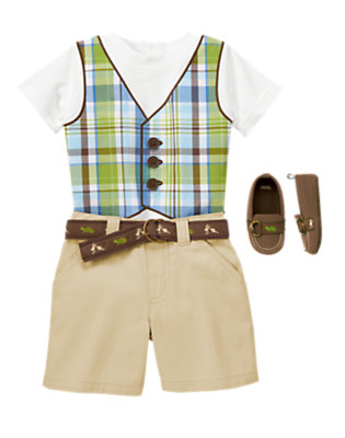 Vested In Style! Outfit by Gymboree
