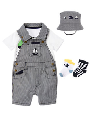 Baby's Sailboat Whale Outfit by Gymboree